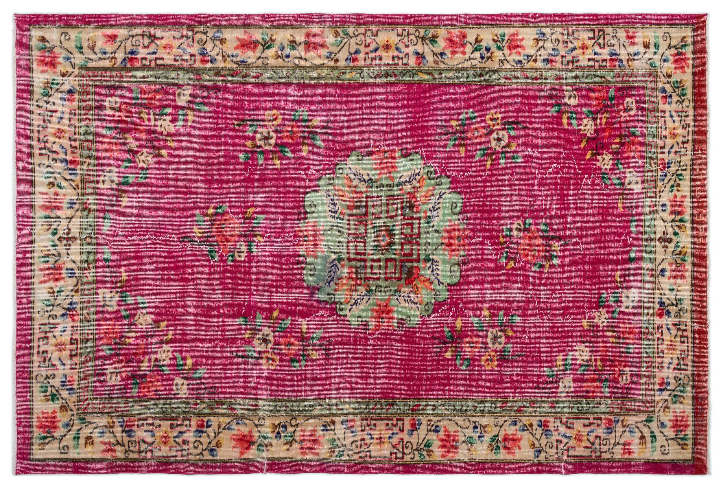 Tapijt Oud Roze : ≥ perzisch tapijt vloerkleed pers wol rood roze stoffering